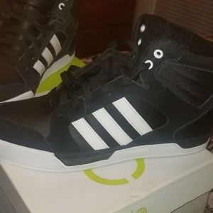 Adidas Neo Shoes High Tops Black